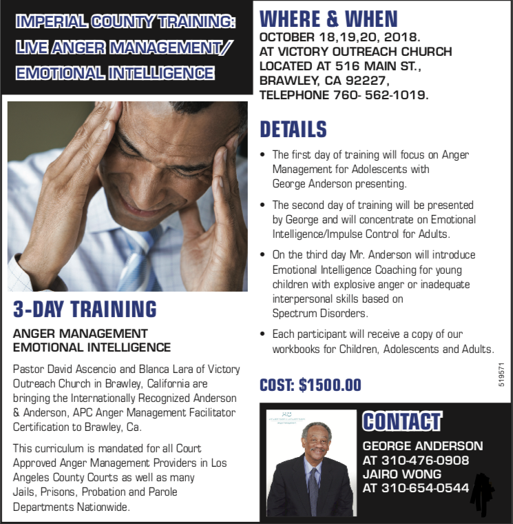 Certification The American Association Of Anger Management Providers